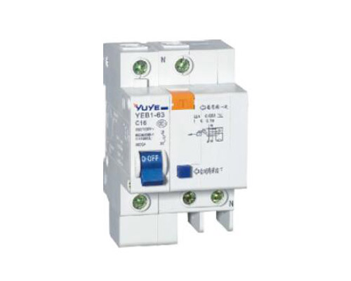 YEB1L-63-60/3N Earth Leakage Circuit Breaker C45L ELCB