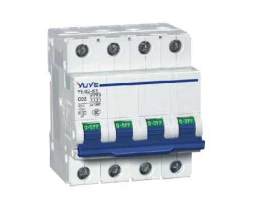 YEB2-63(C65N) 3P Mini Circuit Breaker